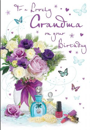 To A Lovely Grandma On Your Birthday